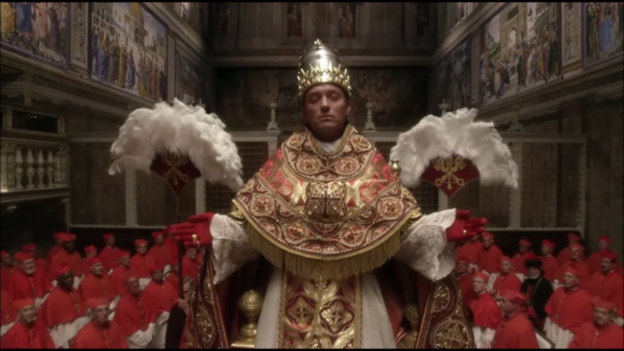 Sedia Gestatoria Definition The Young Pope Pope Entering The Sistine Chapel