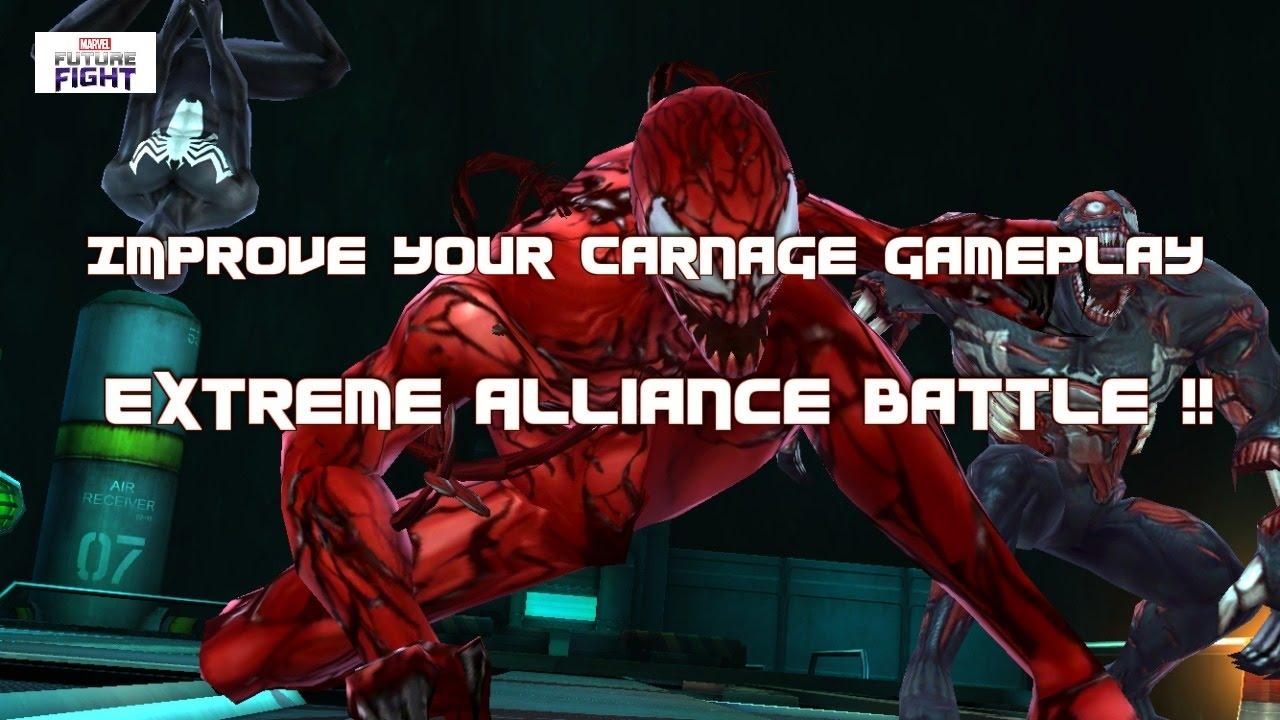 Marvel Future Fight: Carnage Extreme Alliance Battle Tips !! - YouTube