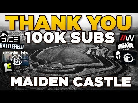 100K SUBS | Maiden Castle - Iron Age Fort England