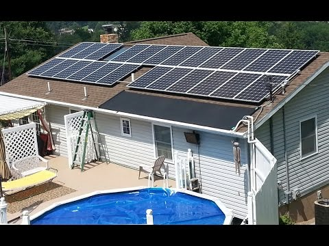 Enphase Summer 2014 Solar Panel Installation