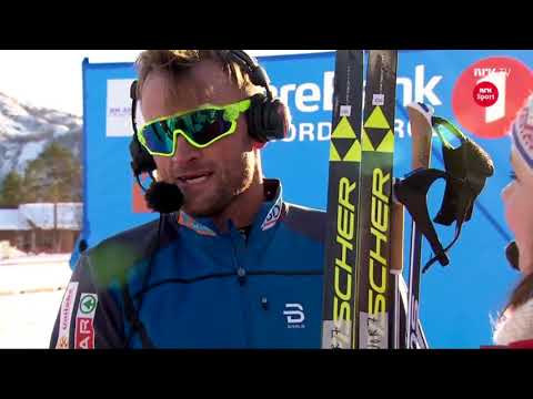 Petter Northug Jr. interview - NM Alta 2018 - Northug talks about the race and the future