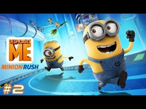 despicable-me:-minion-rush---samsung-galaxy-s3-gameplay-#2