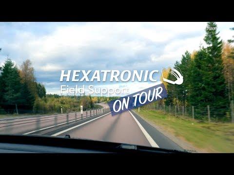 """""""Vi gräver för integration"""" – Hexatronic Field Support on Tour"""