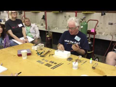 Tom Muir: Arrowmont Workshop 2017