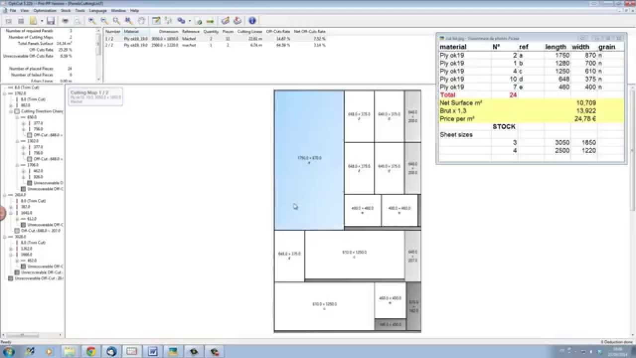 get quick results with our cutting list software wood designer ltd [ 1280 x 720 Pixel ]