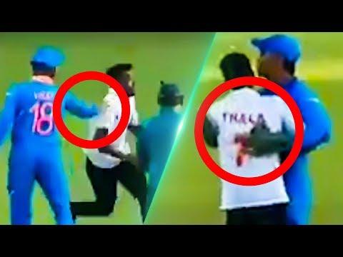 Dhoni-ன் சுட்டித்தனம்  - Thala's Fun Moment with fan  | India vs Australia | RK