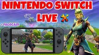 Fortnite Nintendo Switch LIVESTREAM! (Monday Dub Day!)