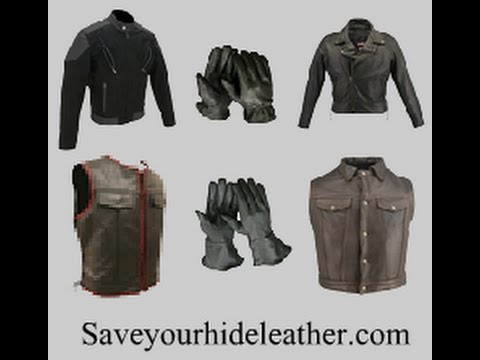 Motorcycle Jackets, Vests and Gloves American Made