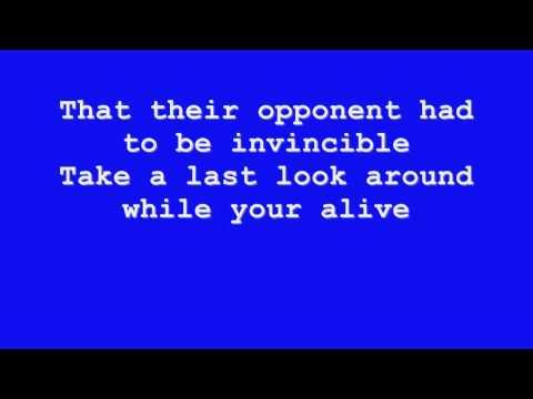 Disturbed - Indestructible Lyrics HD