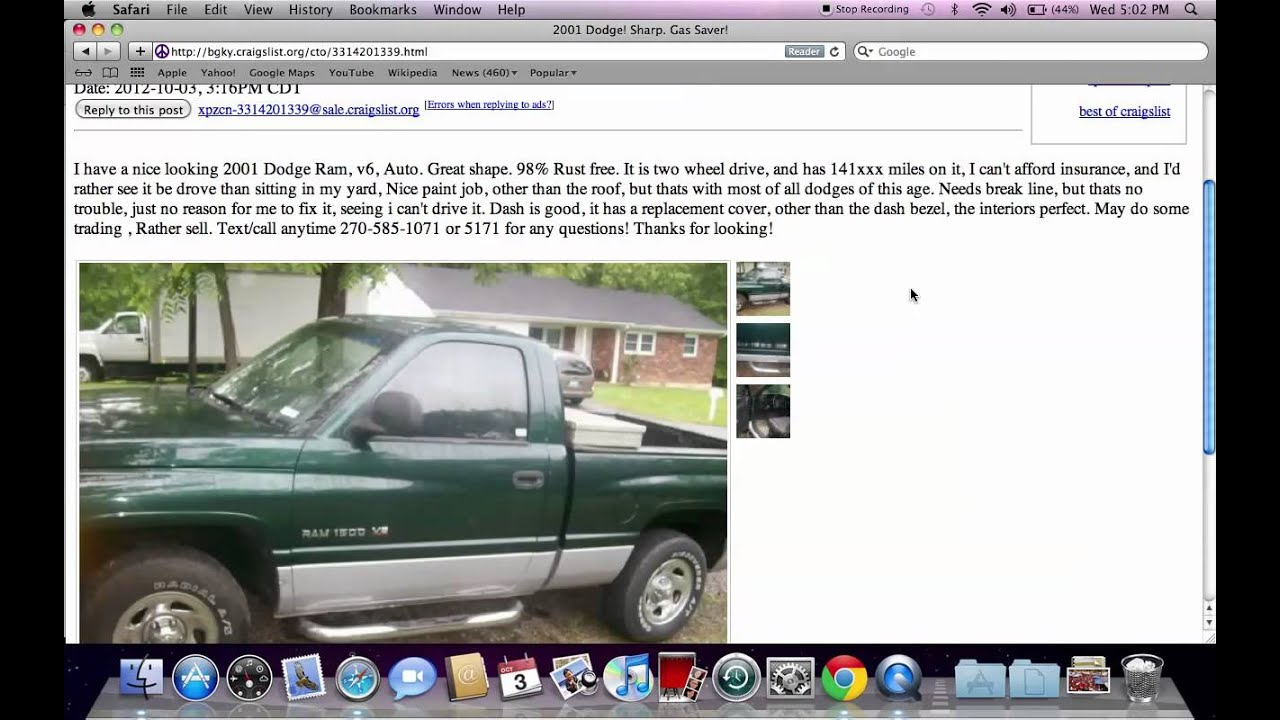 Why All The Cheap Cars On Craigslist