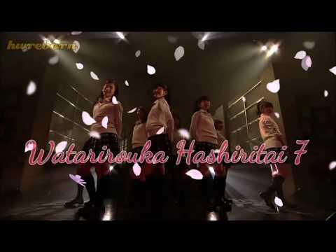 TENOHIRA - Watarirouka Hashiritai 7 (video edit lirik lagu dan terjemahan)