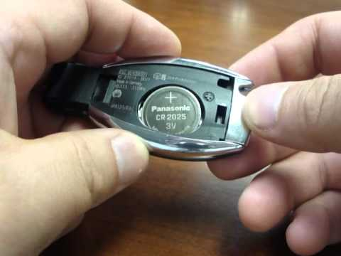 Replacing batteries in your mercedes benz key 2010 or for How to unlock mercedes benz door without key