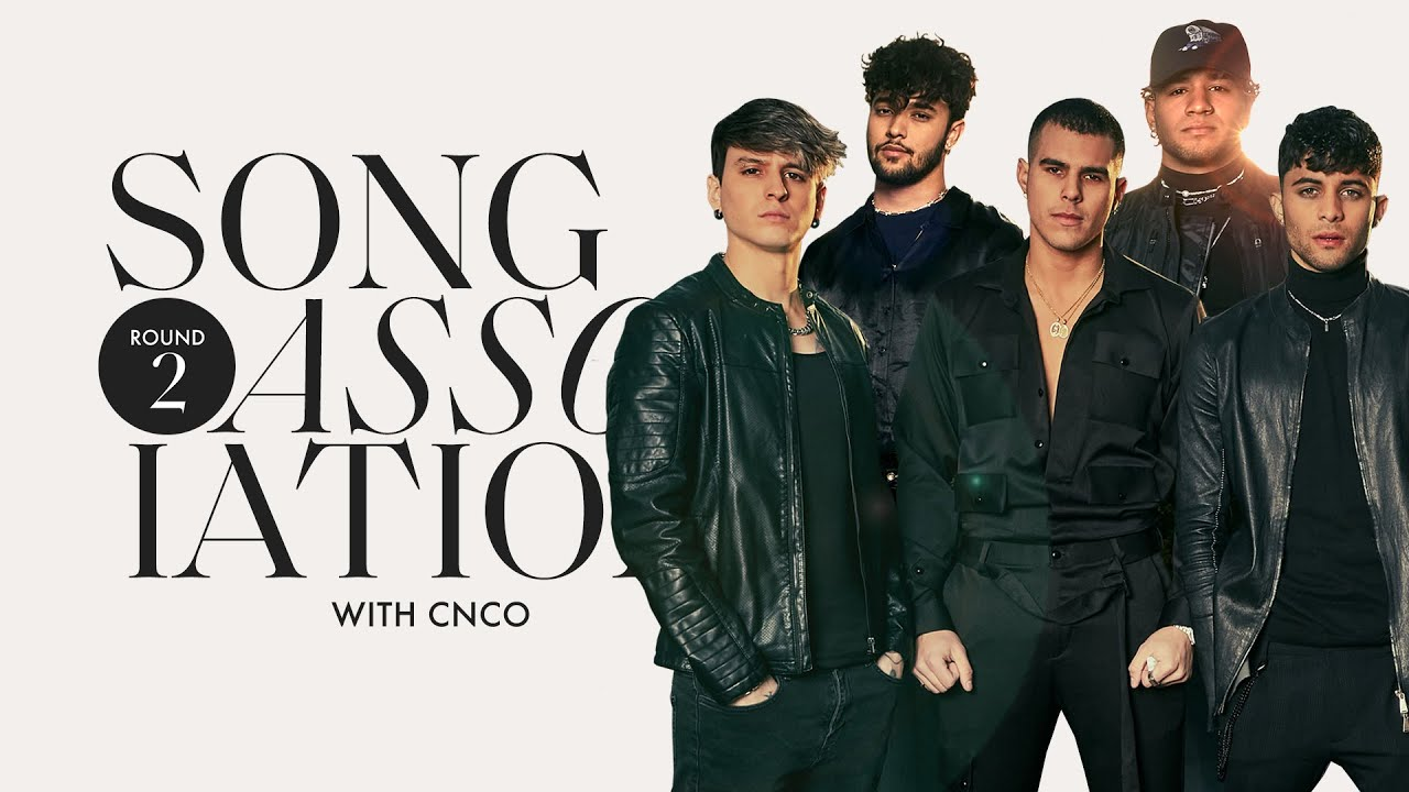 CNCO is Back for Round 2 of Song Association, Sings One Direction, CHIKA, and