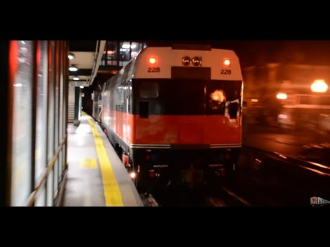 MNR GP35r Tows NH Scheme (CDOT) P32AC-DM @ Croton Falls (Harlem Line)