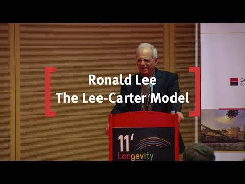 Ronald Lee: The Lee-Carter Model - An Update and Some Extensions