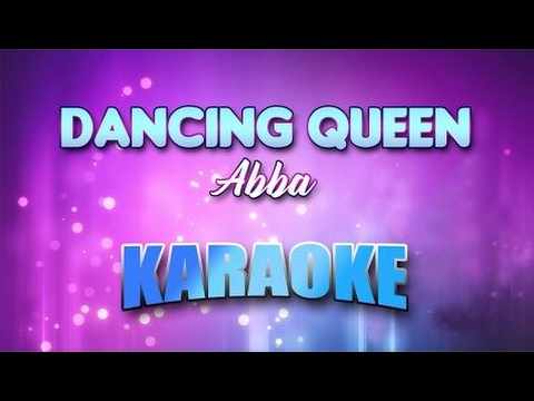 Abba - Dancing Queen (Karaoke version) | Lyrics ♥ ♡ ♫ ♪ ☂