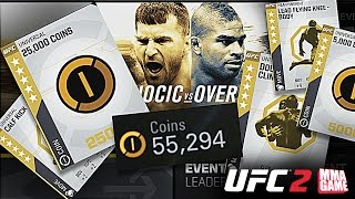 PACK OPENING from EA SPORTS UFC 2 LIVE Event Competition Rewards 5 Star Gold