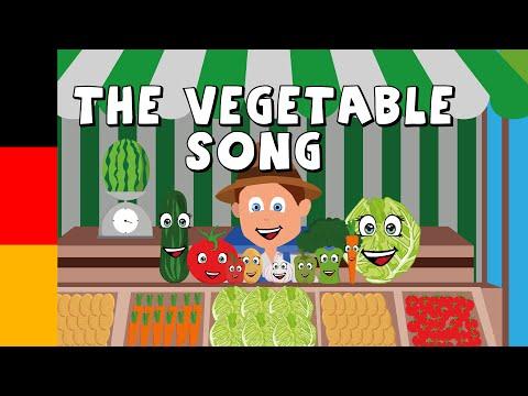 vegetable song for kids in german - Kids songs and videos - learn german