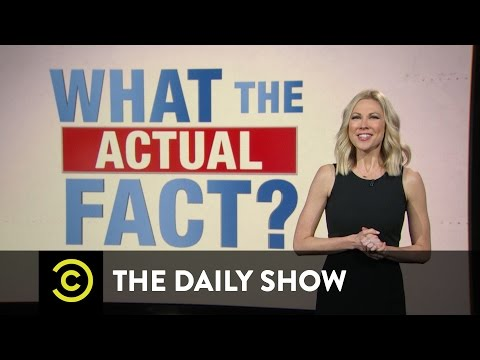 What the Actual Fact? - Donald Trump Lays Out His Economic Plan: The Daily Show