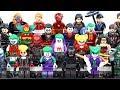 Batman The Telltale Series Gotham Joker Flash & Captain America Unofficial LEGO Minifigures