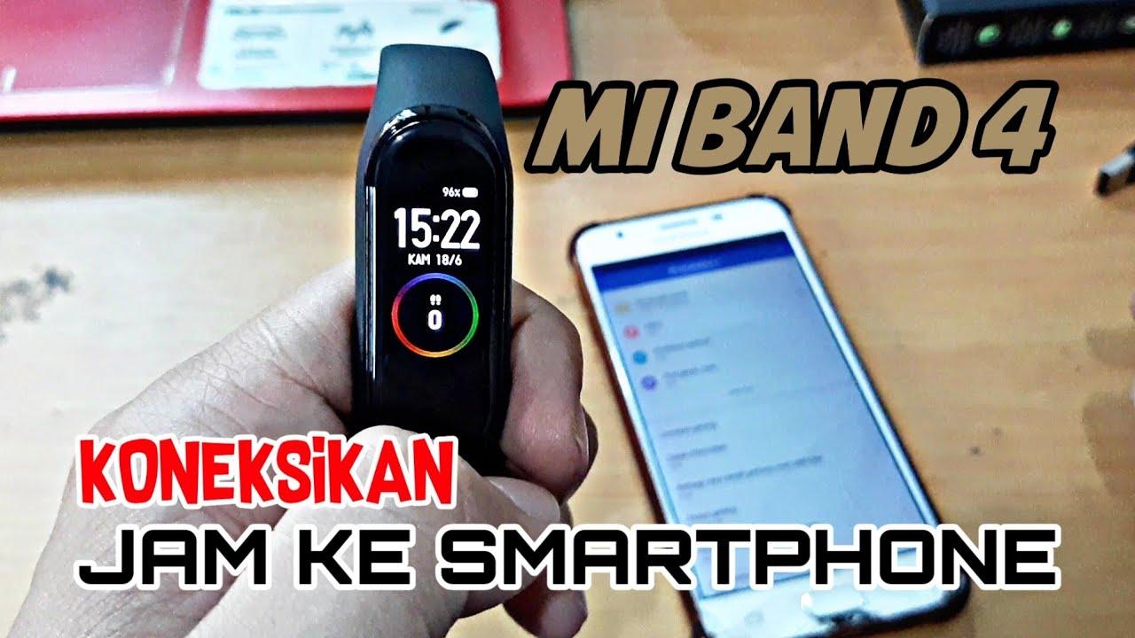 Bagaimana Cara Koneksikan Mi Smart Band 4 Ke Smartphone Android |