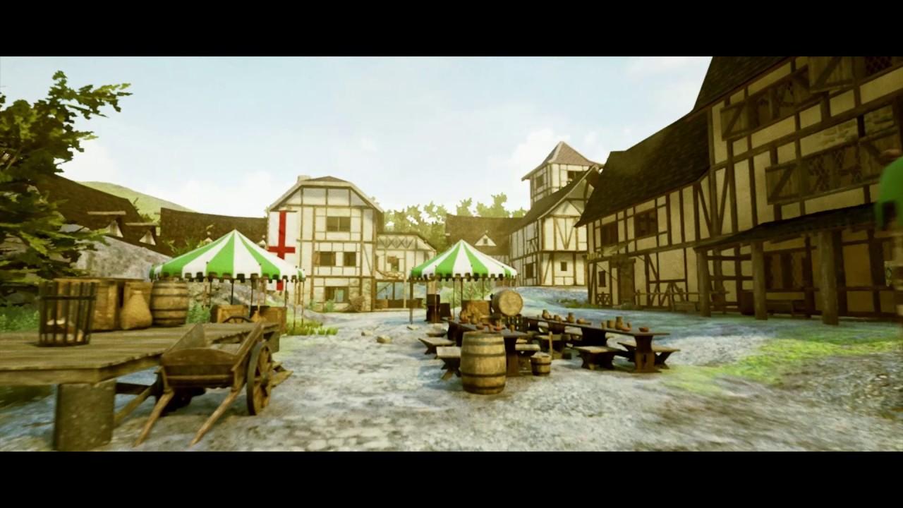 Unreal Engine 4 Map - Medieval Village
