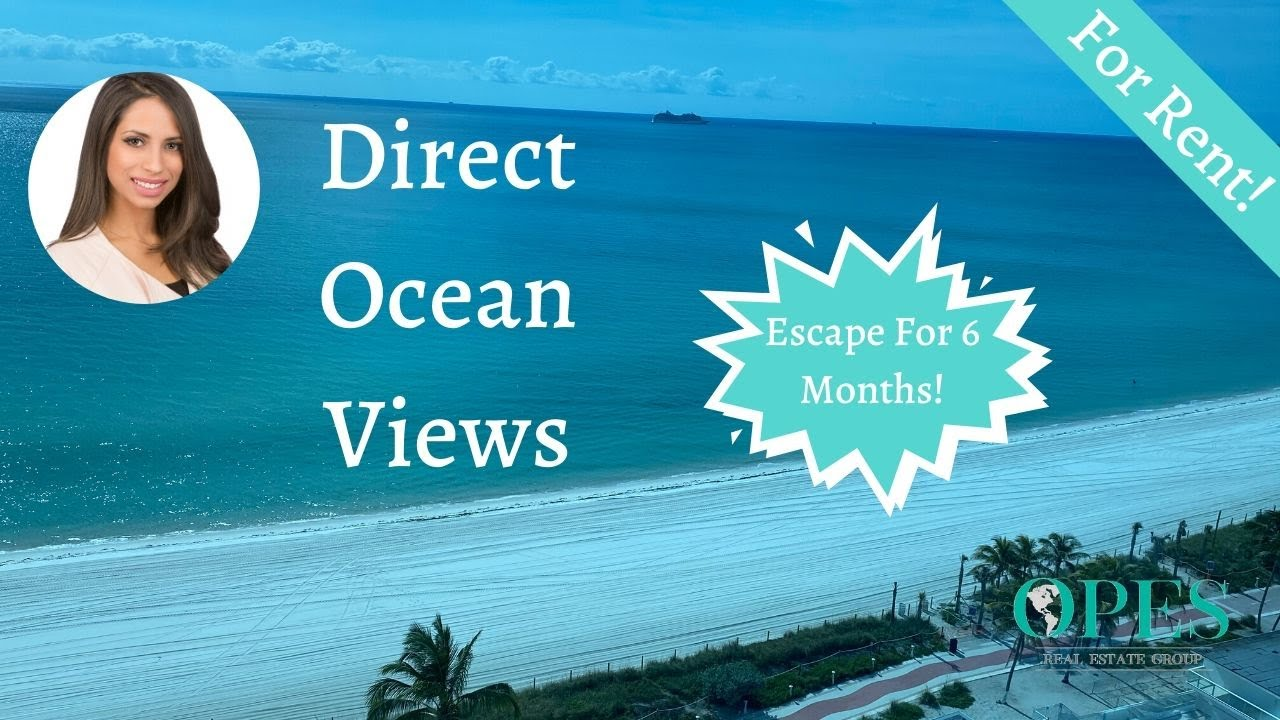 Your Miami Beach Getaway! 5445 Collins Ave #610
