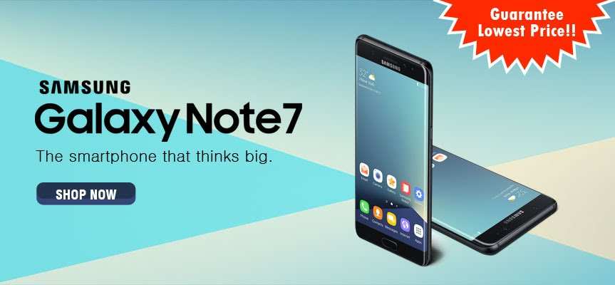 Introducing Samsung Galaxy Note7 Android Smartphone in Kuwait