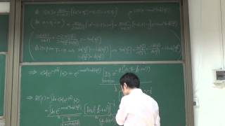 AQM28 计算一维谐振子的配分函数 方法三4 代入经典作用量和泛函行列式求得配分函数20151223