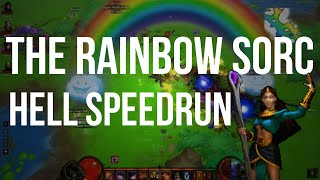 The Rainbow Tree Sorceress Hell Speedrun!