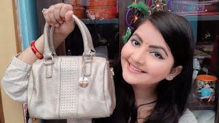 Lino Perros handbag review | bridal purse | bridal handbags in India | party wear handbag |