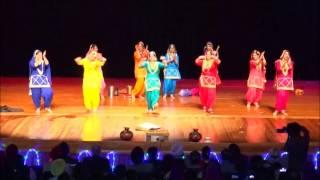 WPCC giddha performance NZ girls 2015