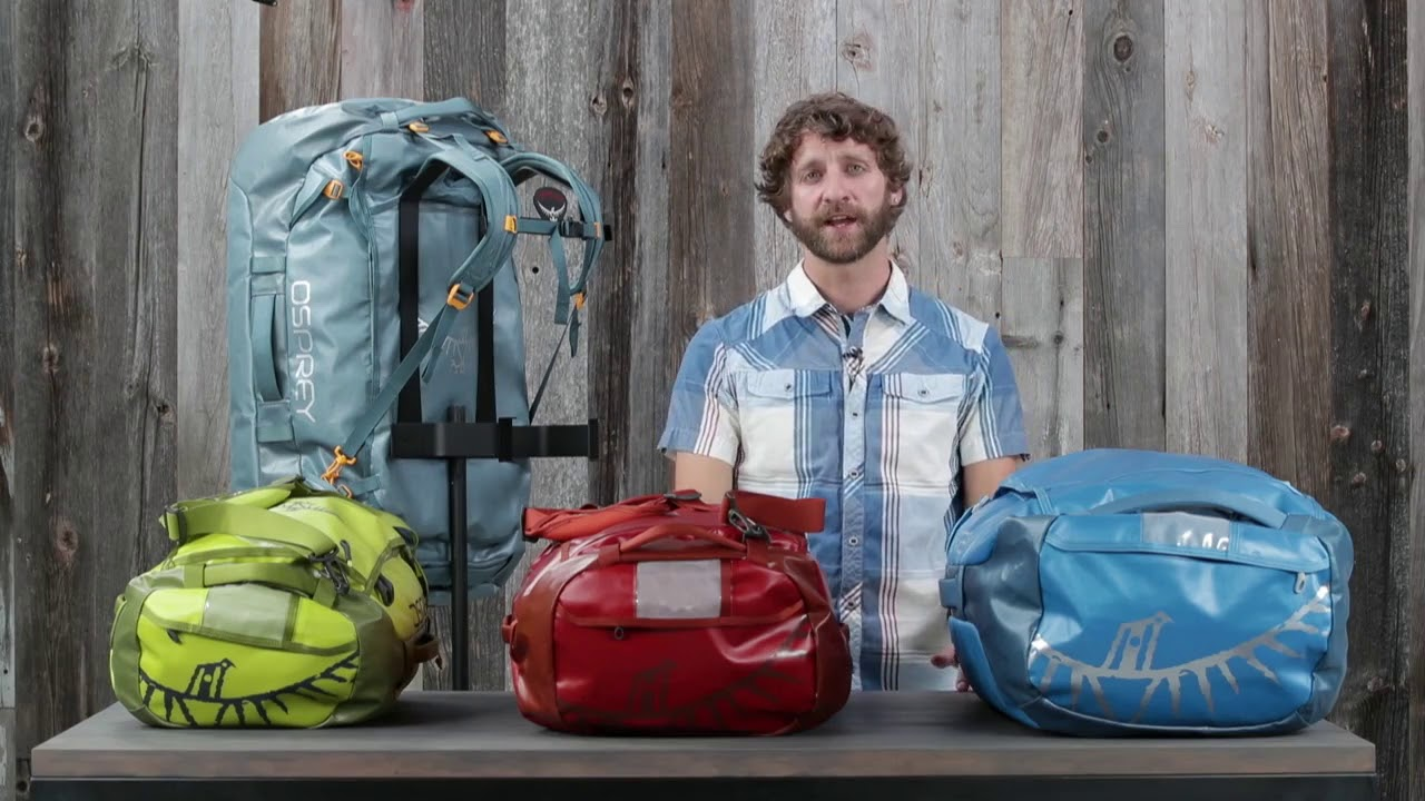 Keep Your Gear Safe With The Osprey Transporter Duffel Series - YouTube 5b623768dc1