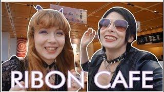 RIBON FUROKU CAFE IN TOKYO w/ Cathy Cat (Eng subs) | Yuriko Tiger