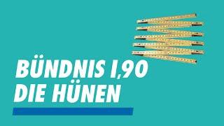 """""""Bündnis 1,90/Die Hünen"""" kämpft für Belange großer Menschen"""