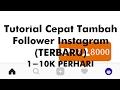 Tutorial Nambah Follower Instagram
