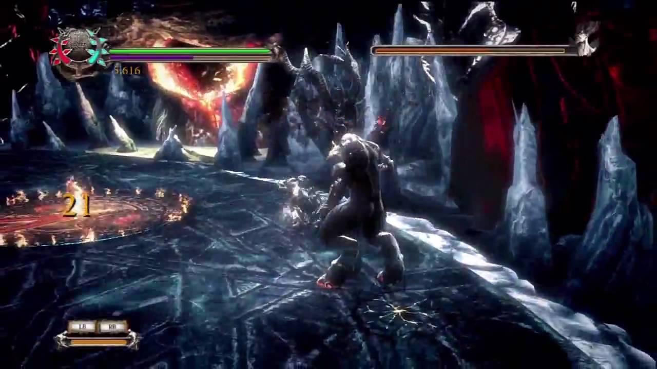 Dantes Inferno Final Boss Fight Lucifer Hd