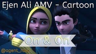 Ejen Ali AMV - Cartoon - On & On (feat. Daniel Levi)