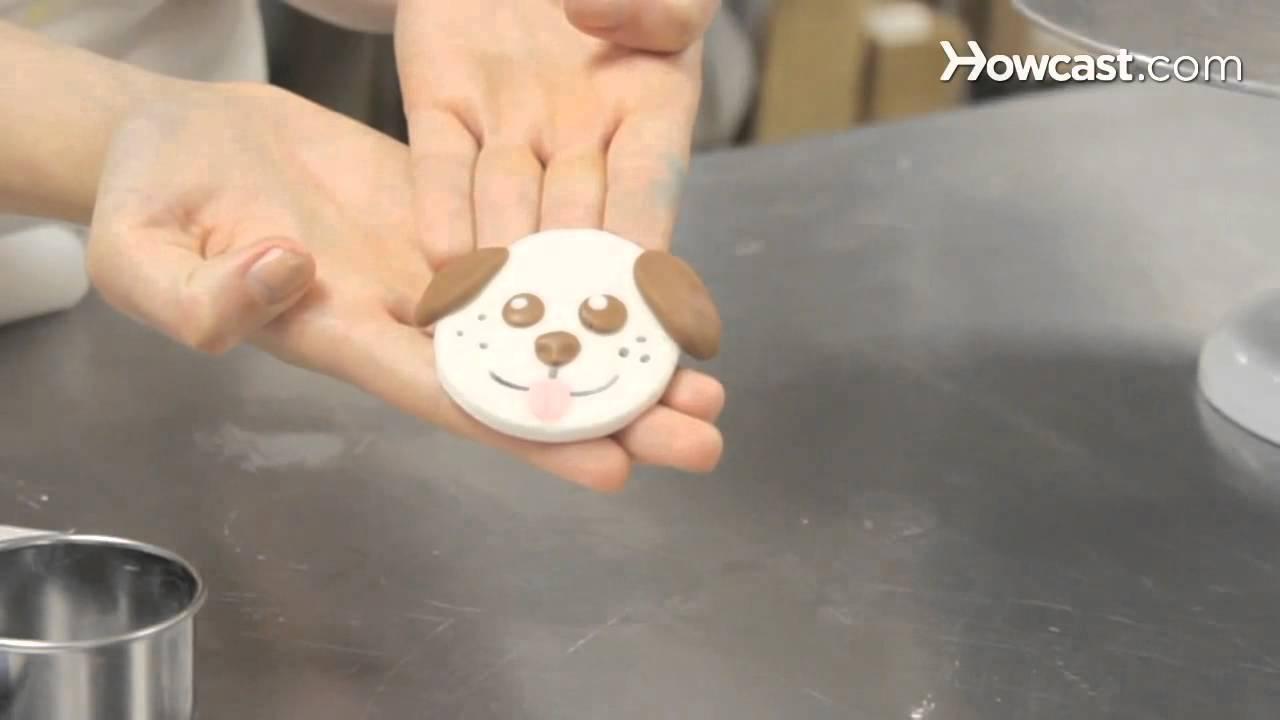 How To Make Fondant Animal Faces  Cupcake Decorating