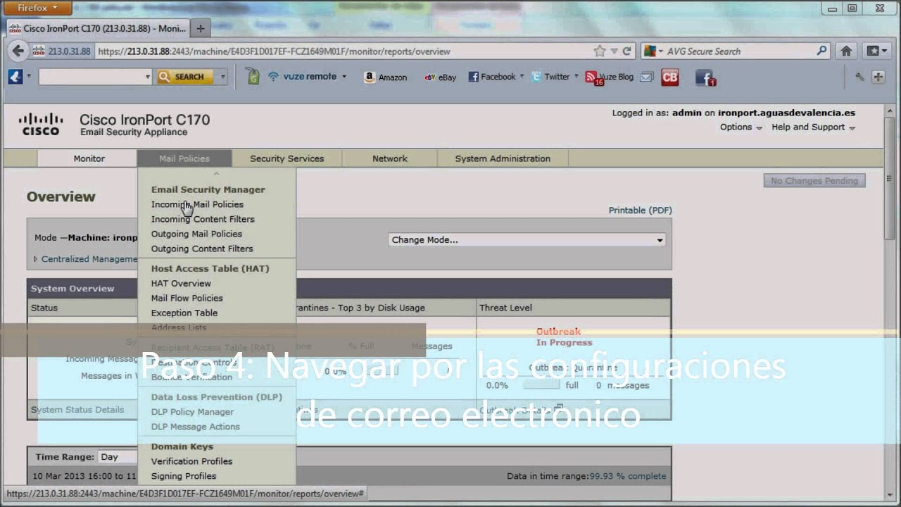 what is ironport Howto Configure Ironport cisco - YouTube