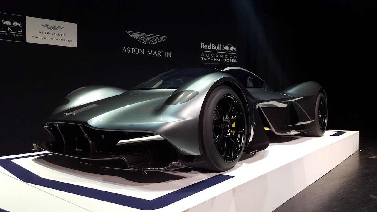 Aston Martin Valkyrie Am Rb 001 First Look 2017 Toronto Auto Show