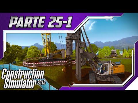 Construction Simulator 2015 - Construindo Ponte Gigante