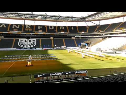 Inside The Commerzbank Arena, Frankfurt