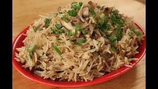 Chilli Mushroom Fried Rice | Chinese Cuisine | Sanjeev Kapoor Khazana