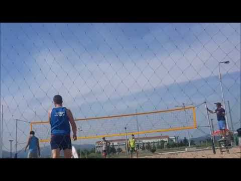 Beach Volley- Ημιτελικός Κομοτηνή (Enjoy sports)
