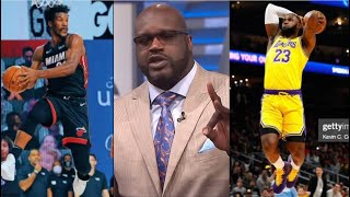 Inside The NBA | Shaq SHOCKED Butler's triple-double lift Heat def Lakers 111-108 Gm 5; LeBron 40-pt