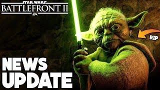 HUGE HERO UPDATE! Yoda and Anakin NERF, Chewbacca and Obi-Wan BUFF and More! Star Wars Battlefront 2