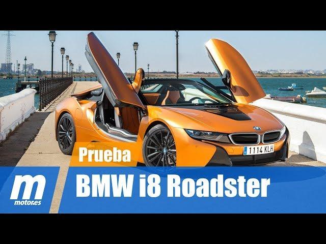 BMW i8 Roadster, eficiencia híbrida sin techo
