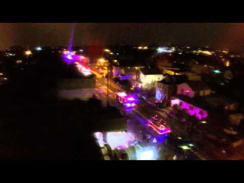 Drone footage of the Wallington FD Holiday Parade 2014