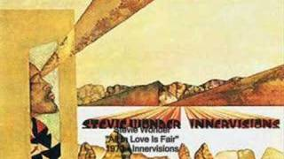 Watch Stevie Wonder All In Love Is Fair video